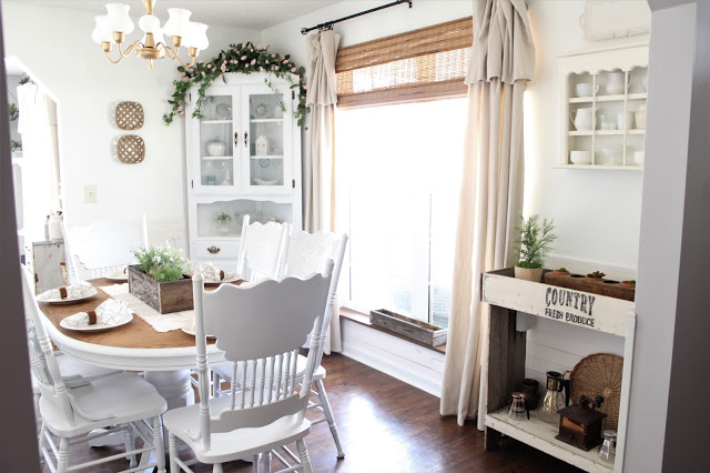 Dining Room, cottage dining room, farmhouse dining room