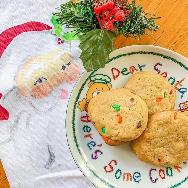 m&m cookies recipe
