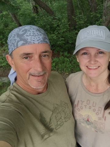 empty nesters section hiking the Appalachian Trail in Georgia