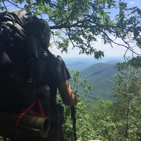 the beauty of the overlooks on the Appalachian Trail in Georgia