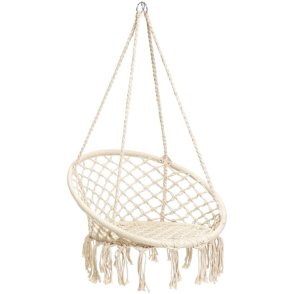 Boho inspired swing chair, boho decor, swing chair