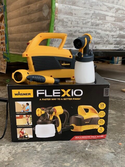 flexio paint sprayer, paint sprayer, flexio, wagner, wagner paint sprayer, wagner sprayer