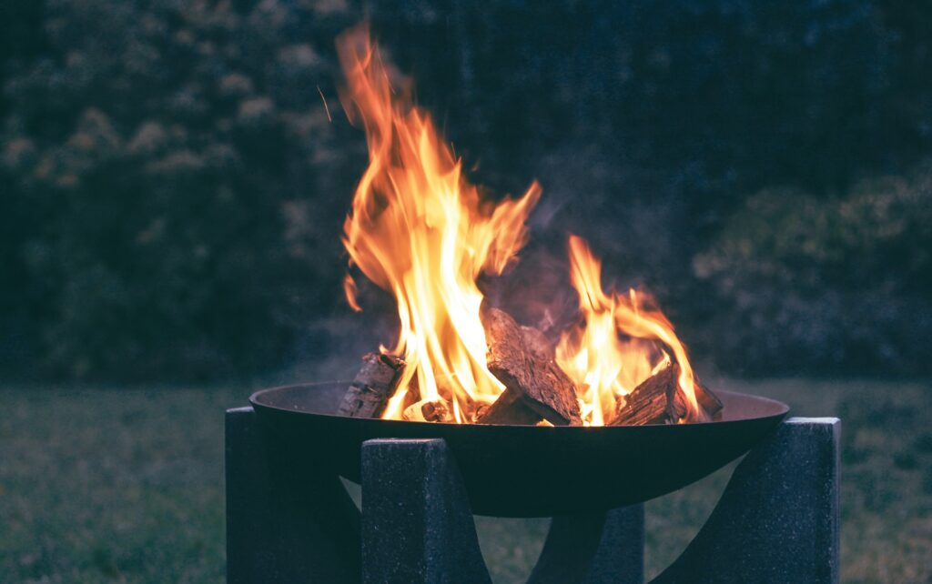fire pit date night, fire pit