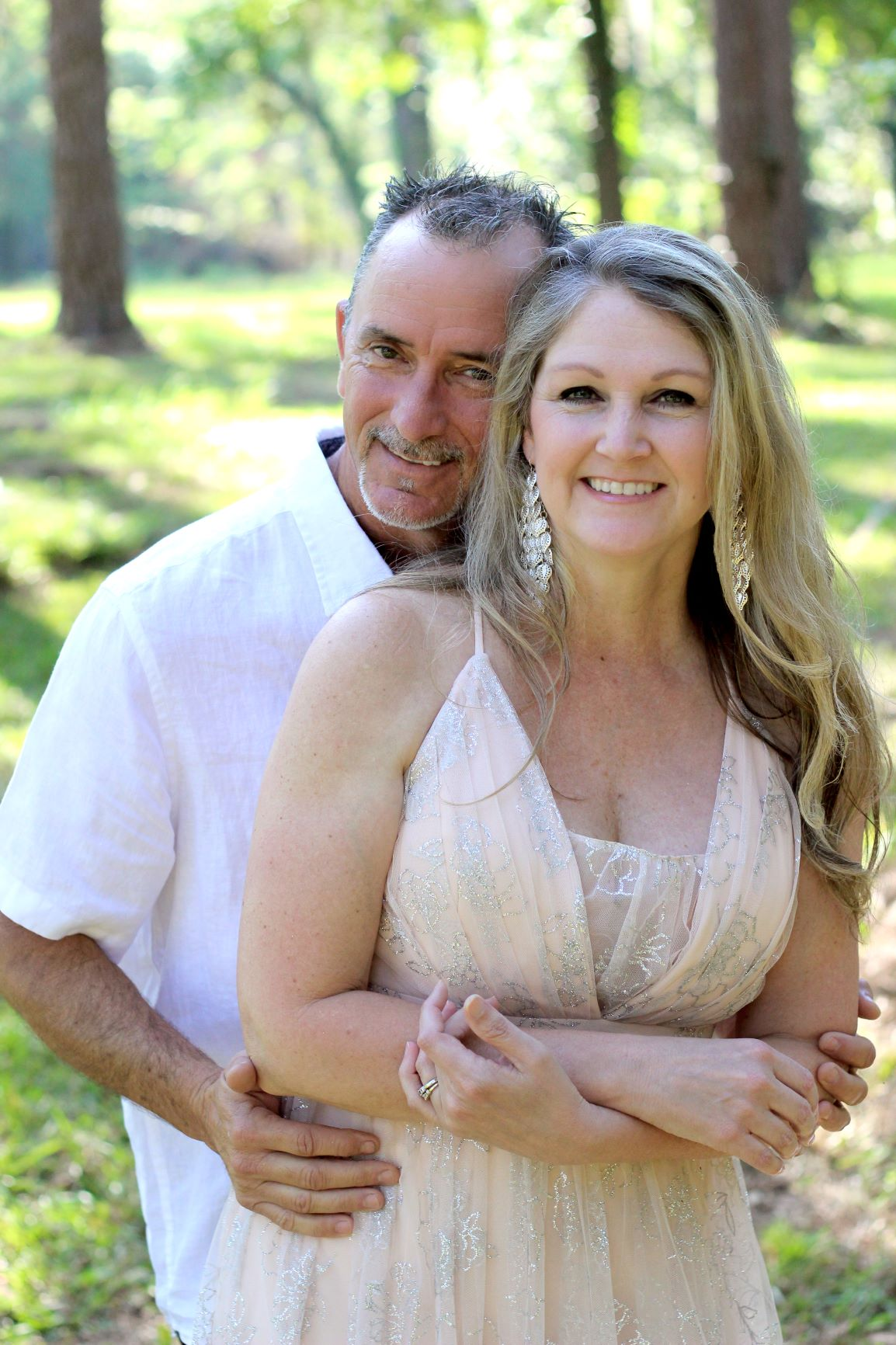 a couple celebrates 20 years of marriage