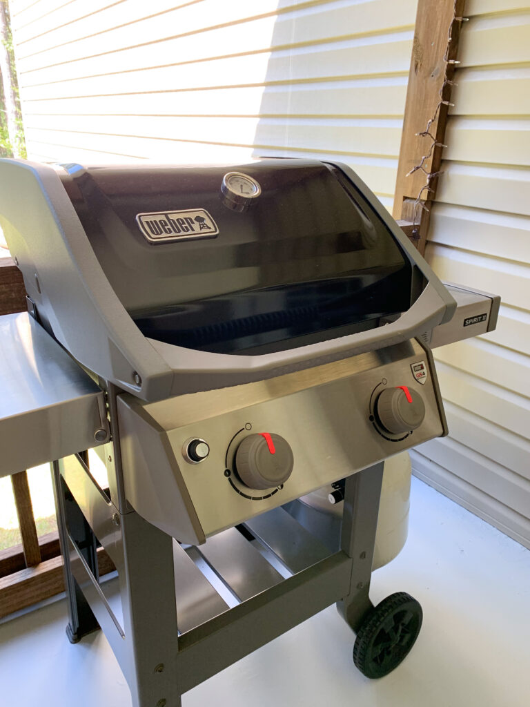 Weber Grill for outdoor cooking