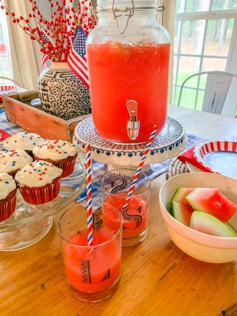 foods for July 4th, party foods for july 4th, party food ideas