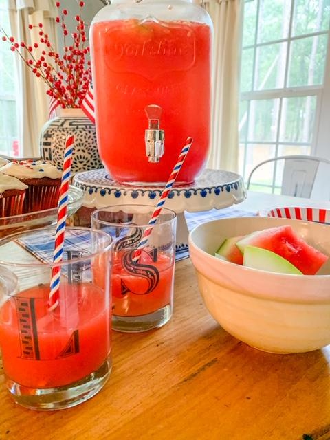 watermelon lemonade, lemonade, watermelon flavored drink, homemade lemonade, homemade lemonade drink