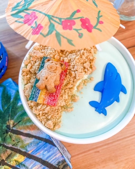 shark themed party food, shark week, party food,