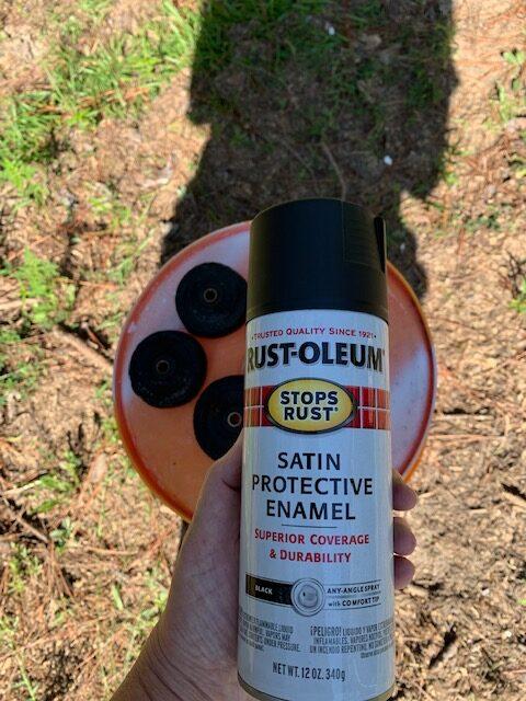 rut-oleum satin protective enamel paint for vintage wheels