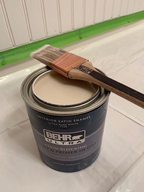 Creamy Mushroom paint by Behr