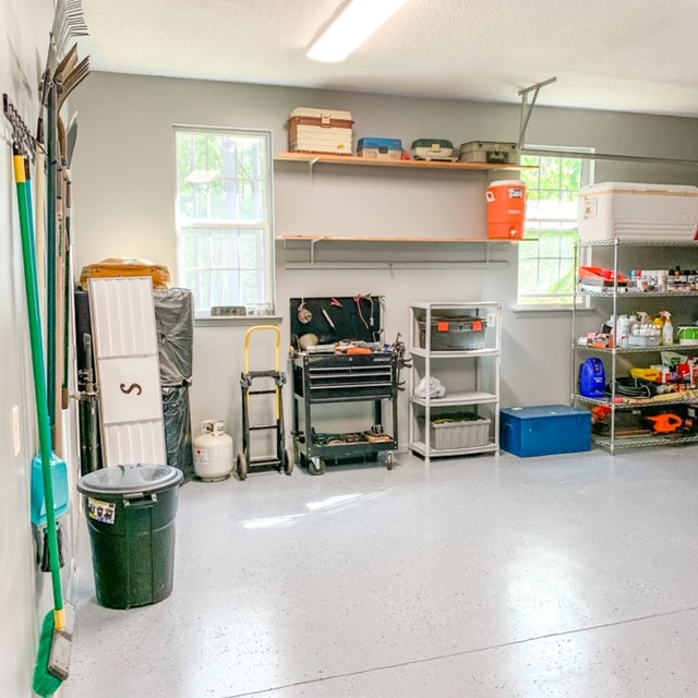 How to reorganize a garage