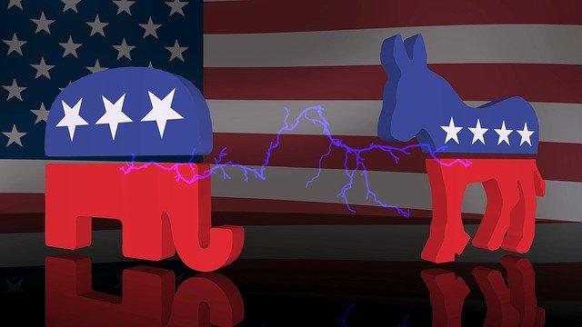 republican and democrat party symbols