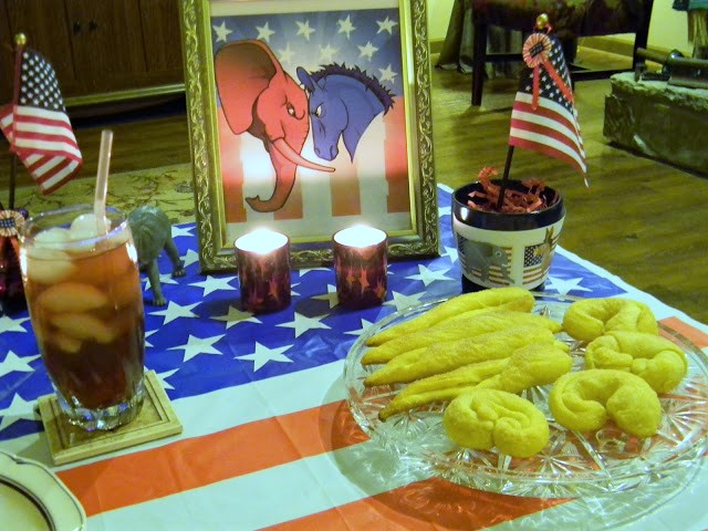 elephant ears and donkey tails desserts for election party