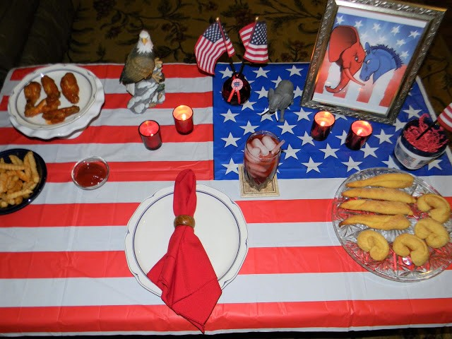 menu ideas for an election party
