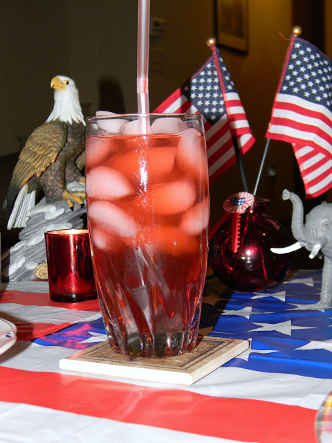 a patriotic party drink
