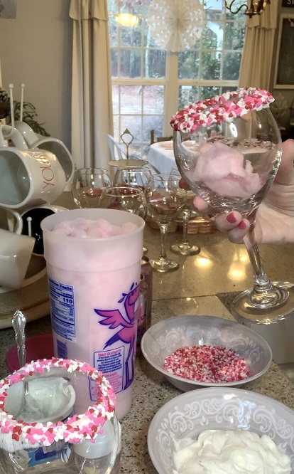 how to make a cotton candy mocktail