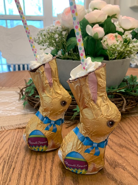 chocolate bunny drinks