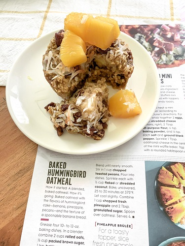 better homes and gardens recipe for baked hummingbird oatmeal