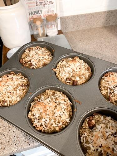 an easy recipe for baked hummingbird oatmeal
