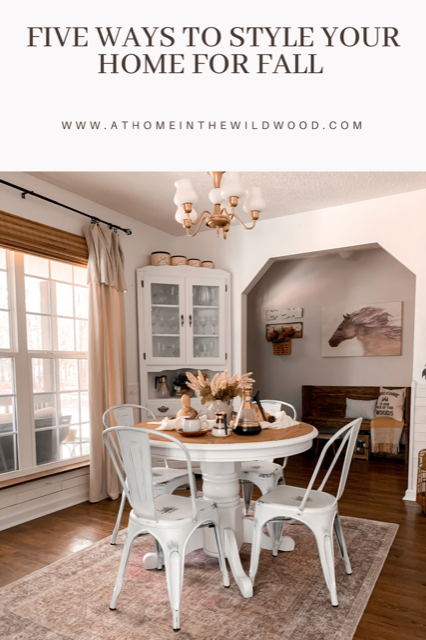 five ways to decorate your home for fall