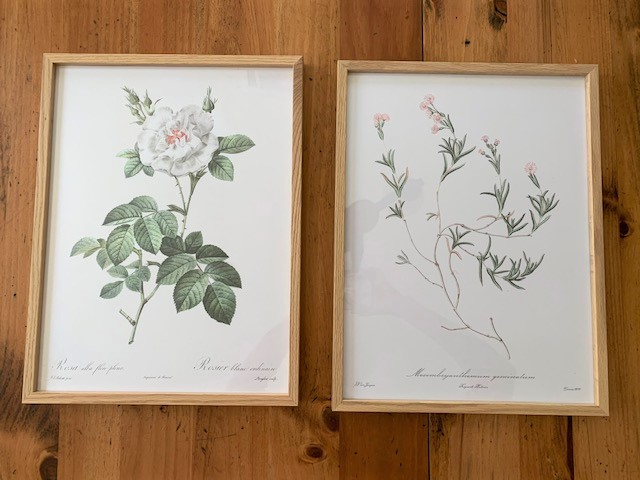 set of vintage inspired prints from the Poster Store