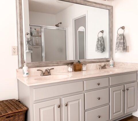 bathroom vanity refresh